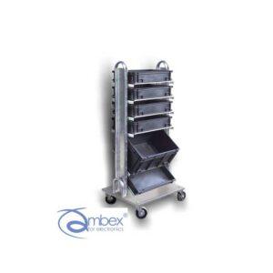 CHARIOTTE wózek do pojemników format EURO