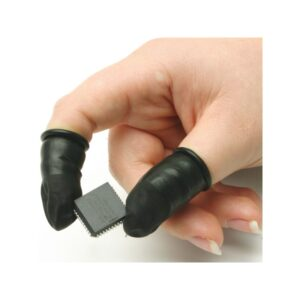 Nakładki na palce z naturalnej gumy przewodzące - 47.005.0*