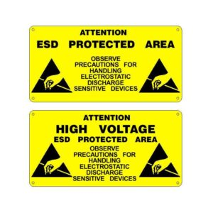 Tablice ostrzegawcze dla stref EPA