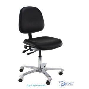 Ergo 2300 Clenaroom, krzesło ESD