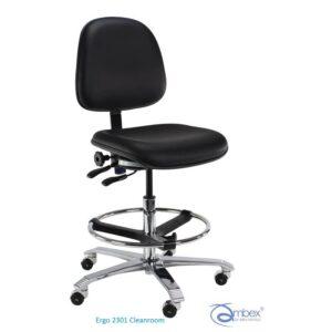 Ergo 2301 Clenaroom, krzesło ESD