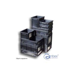 NEWBOX 24 pojemniki magazynowe 600x400x120, ESD