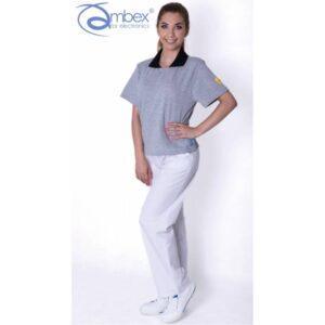 TS15 - PGZ koszulka POLO krótki rękaw kieszeń ESD