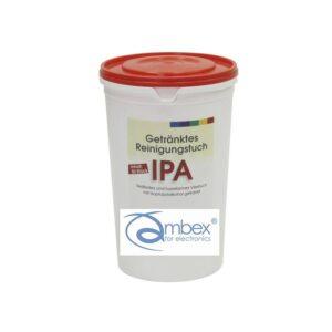 Ściereczki do czyszczenia, izopropanol z wodą dejonizowaną 30%